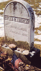 Death of Susan B. Anthony