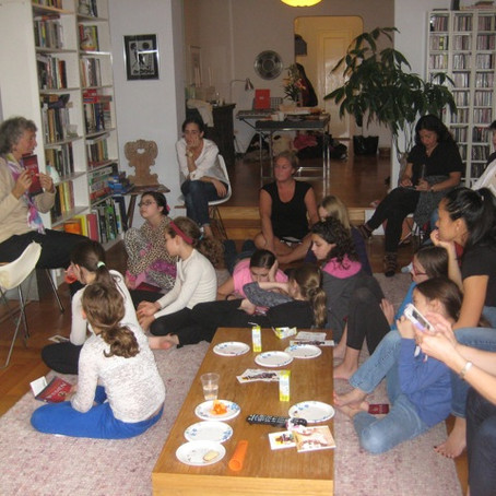 Mothers and daughters book club