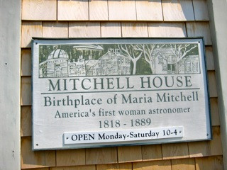 mariamitchell house plaquesmall