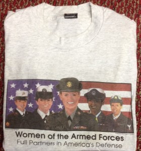 T-Shirt Military crop