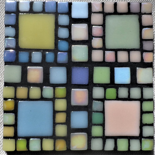 MAKE YOUR OWN COASTER KIT WITH MIX SIZED TILES