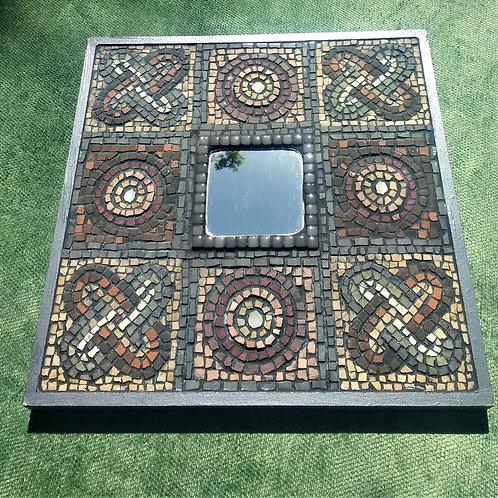 Roman Inspired Mosaic Mirror