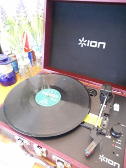 1970s Record Player