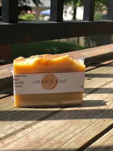 Energizing Orange Soap