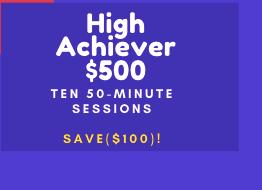 High Achiever Bundle (10 Sessions)