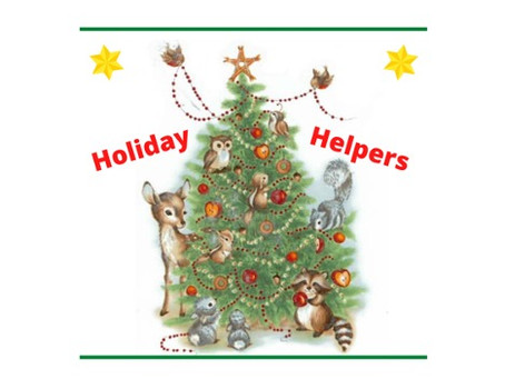 Holiday Helpers Writing Contest