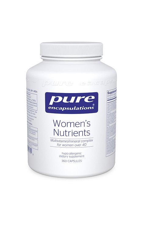Pure Encapsulations Women's Nutrients - 180 Capsules