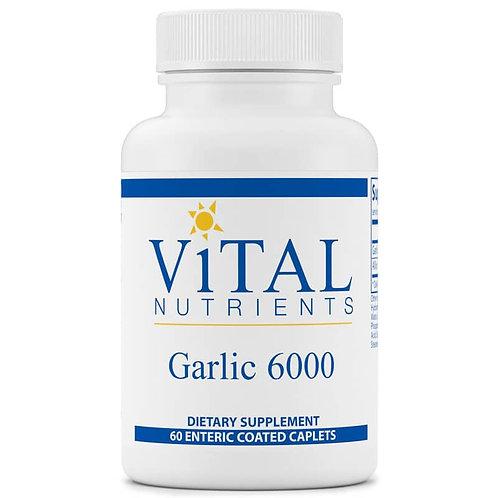 Garlic 6000 by Vital Nutrients - 60 capsules