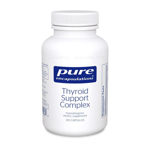 Pure Encapsulations Thyroid Support Complex - 120 Capsules