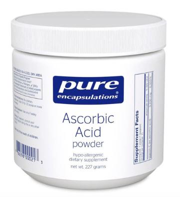 Ascorbic Acid powder by Pure Encapsulations