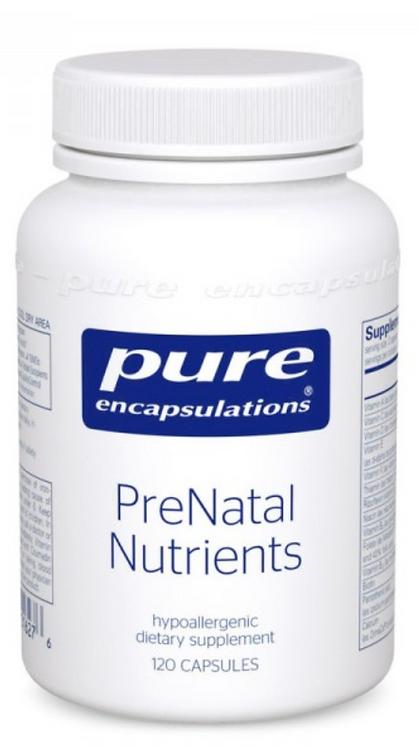 Pure Encapsulations PreNatal Nutrients - 120 capsules