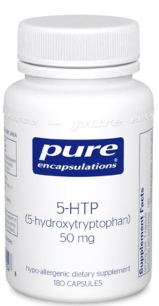 5-HTP 50mg - 180 capsules