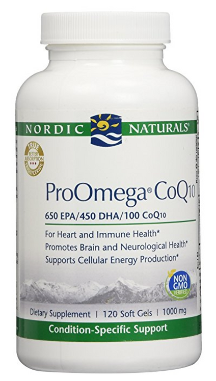 Nordic Naturals ProOmega CoQ10 - 120 soft gels
