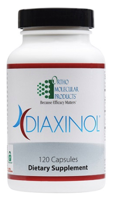 Diaxinol by Ortho Molecular Products - 120 capsules