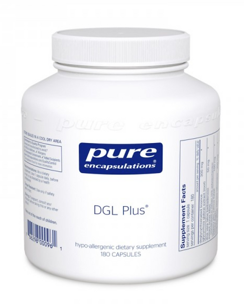 Pure Encapsulations DGL Plus - 180 capsules