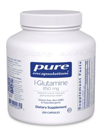 l-Glutamine by Pure Encapsulations - 850 mg