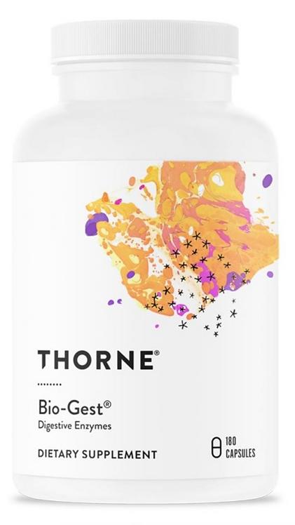 Thorne Bio-Gest Digestive Enzymes - 180 Capsules