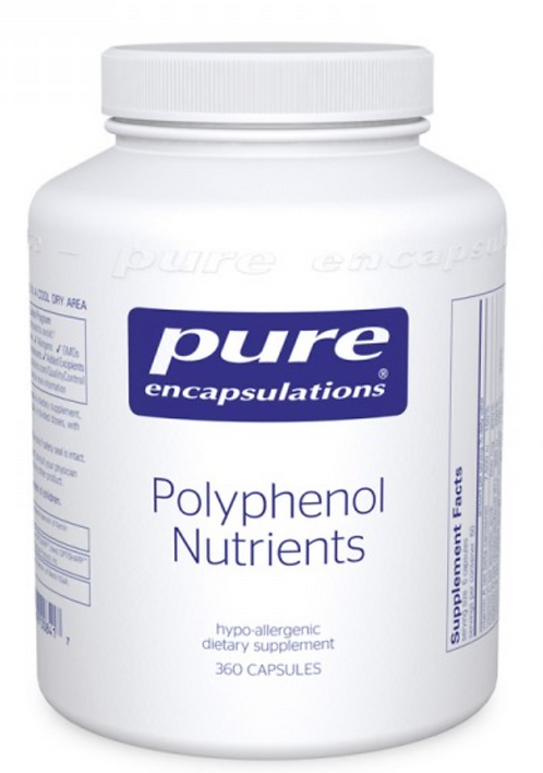 Polyphenol Nutrients  by Pure Encapsulations- 360 Capsules