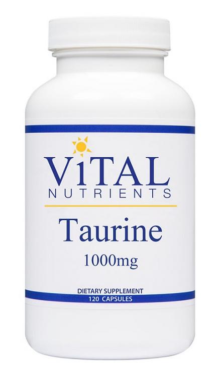 Vital Nutrients Taurine 1000mg - 120 capsules