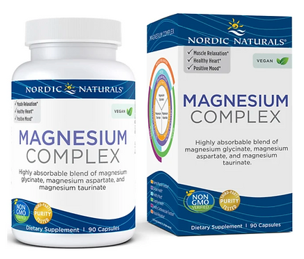 Magnesium Complex by Nordic Naturals