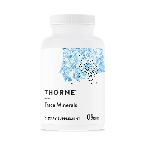 Thorne Trace Minerals - 90 Capsules