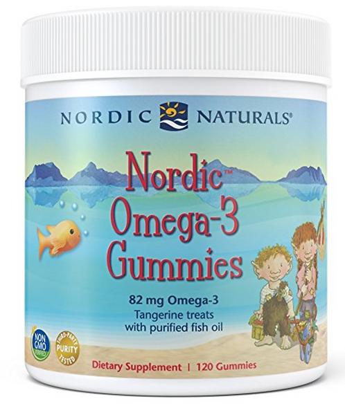 Nordic Naturals Omega-3 Gummies - 120 Gummies