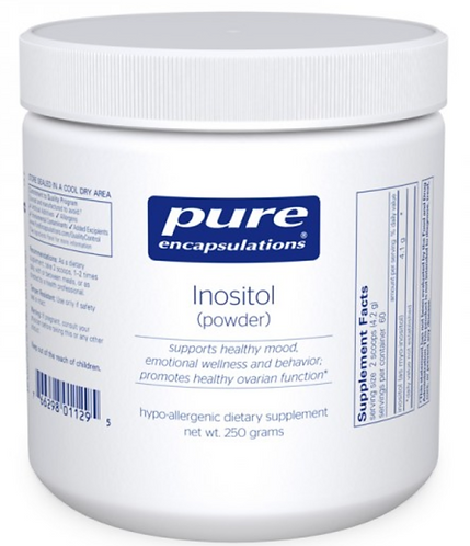 Pure Encapsulations Inositol (powder) - 250 grams