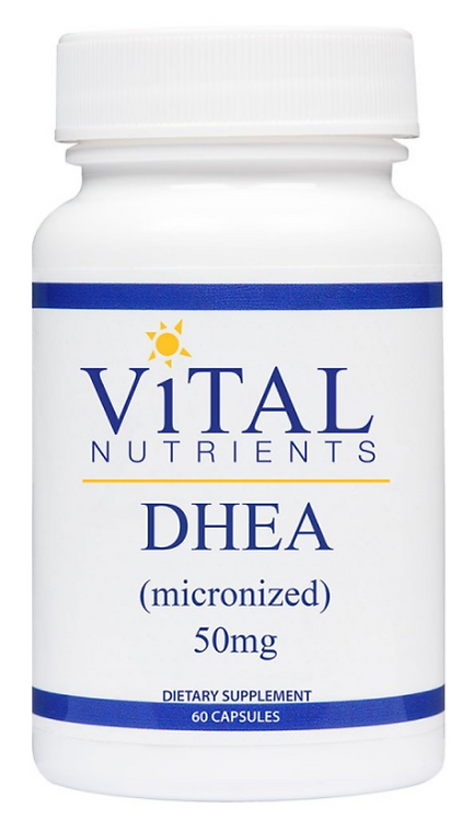 Vital Nutrients DHEA 50mg - 60 capsules