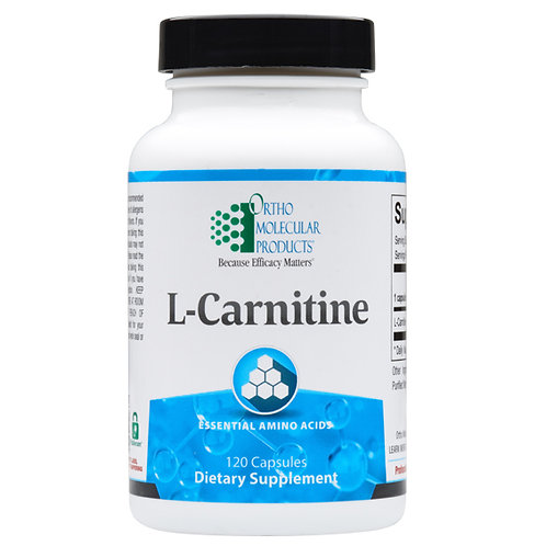 L-Carnitine by Ortho Molecular Products - 120 capsules