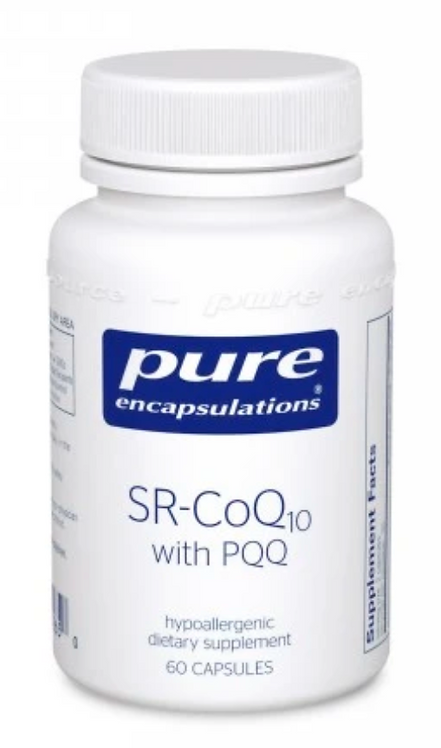 SR-CoQ10 with PQQ by Pure Encapsulations