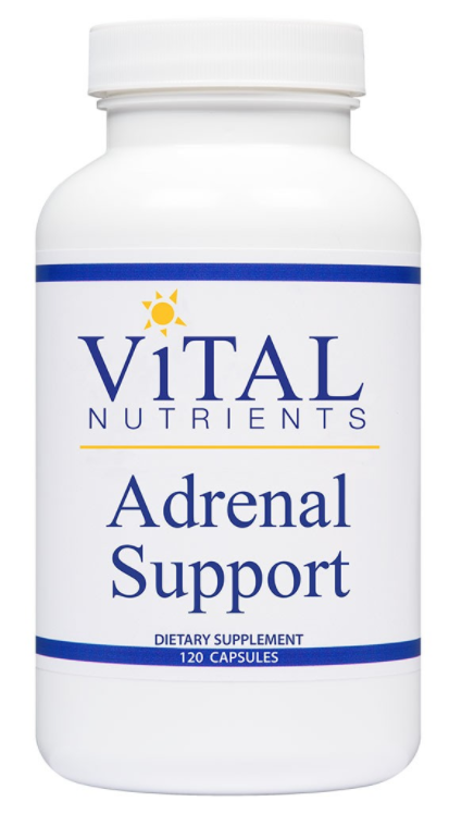 Vital Nutrients Adrenal Support - 120 Capsules