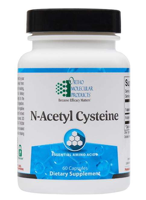 N-Acetyl Cysteine by Ortho Molecular - 60 Capsules
