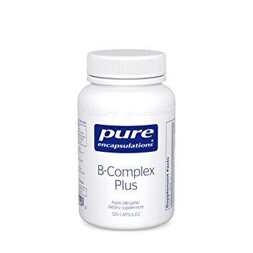 Pure Encapsulations B-Complex Plus - 120 Capsules
