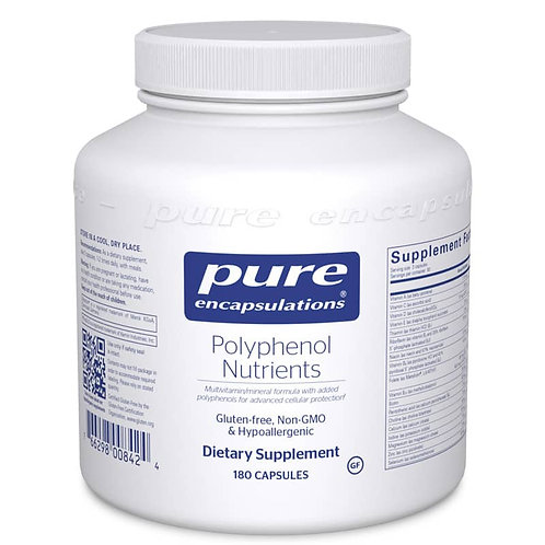 Polyphenol Nutrients by Pure Encapsulations - 180 capsules