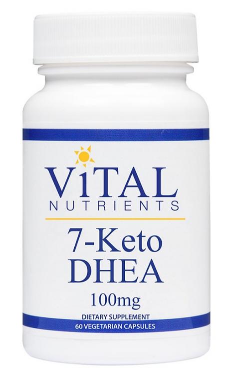Vital Nutrients 7-Keto DHEA 100mg - 60 capsules