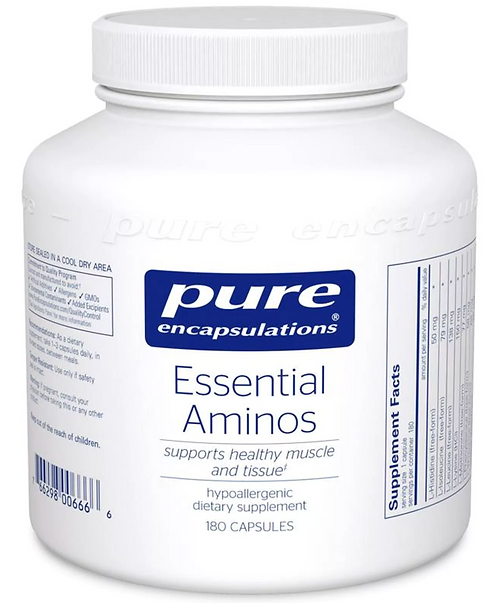 Essential Aminos by Pure Encapsulations- 180 Capsules