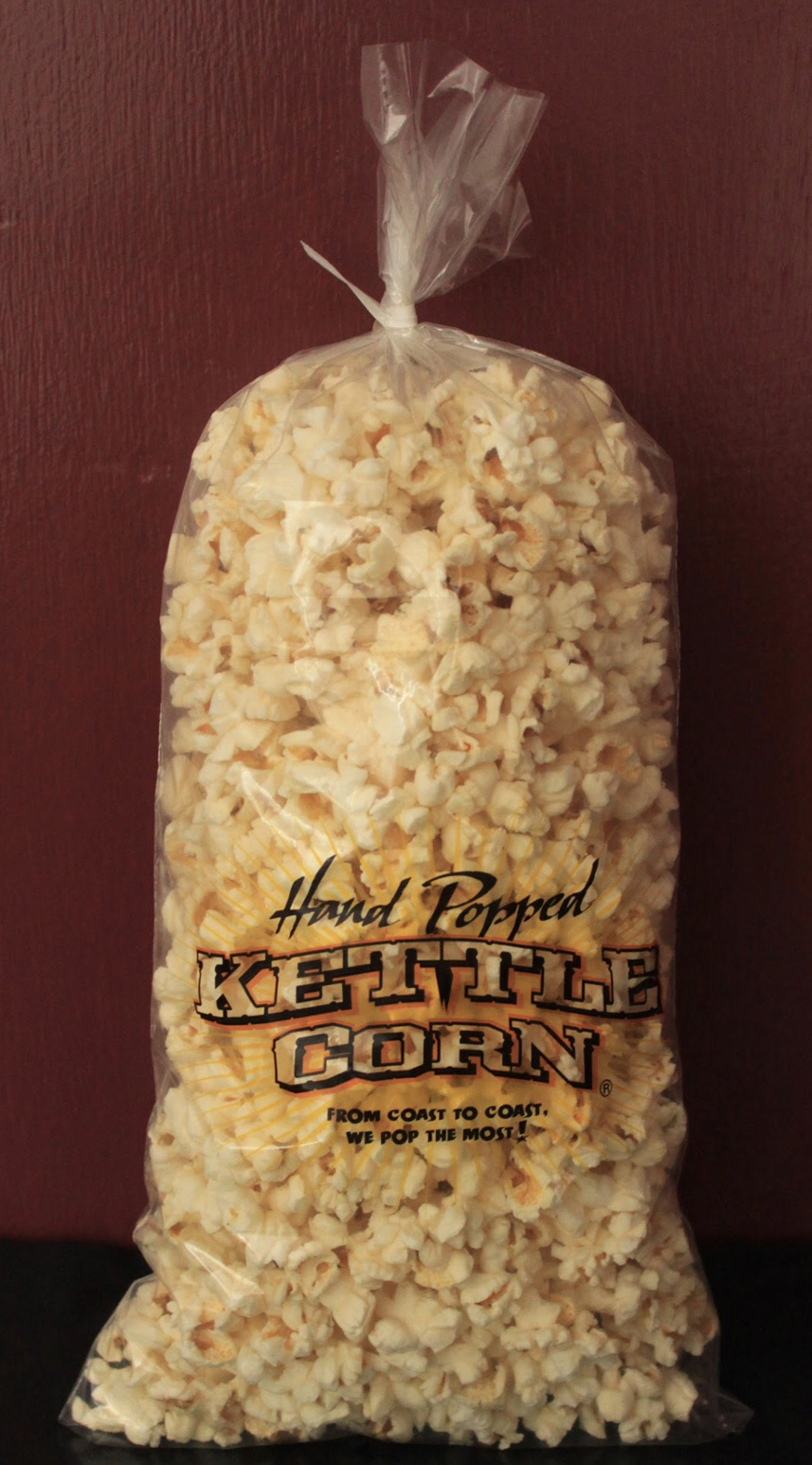 Kettle corn bag