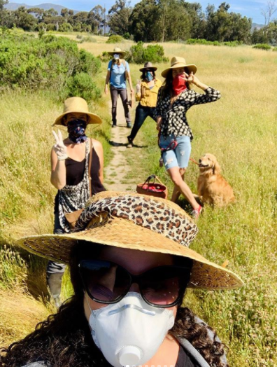 social distancing foraging