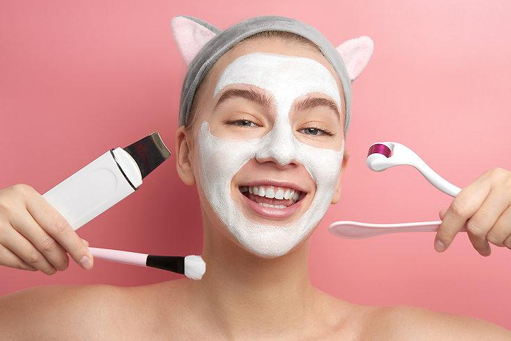 Microneedling For Springtime Woman Doing Microneedling FAQs Corona aesthetics Corona aesthetician Skin rejuvenation
