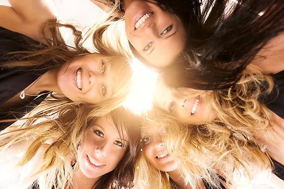 girls looking down at camera, dermal fillers benefit, dermal filler advantages, why use dermal fillers, hyaluronic acid injections, anti-wrinkle skin treatment, skin plumping
