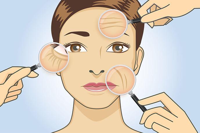 soften wrinkles cosmetic areas Soften wrinkles Corona aesthetics Corona aesthetician Skin rejuvenation