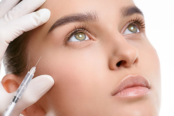 woman getting botox, holiday ready with botox, holidays and Botox, look better for the holidays, how does botox work, botox before holidays