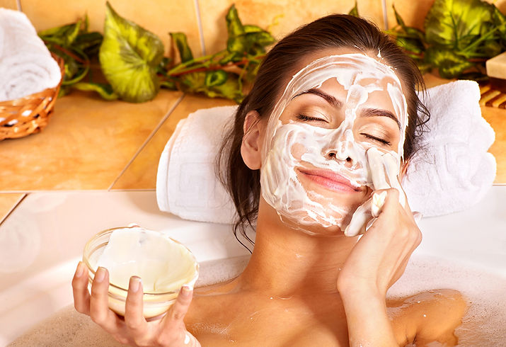 Skin Care During COVID-19 Woman Applying Skin Care Tips During COVID-19 and Beyond Corona aesthetics Corona aesthetician Skin rejuvenation