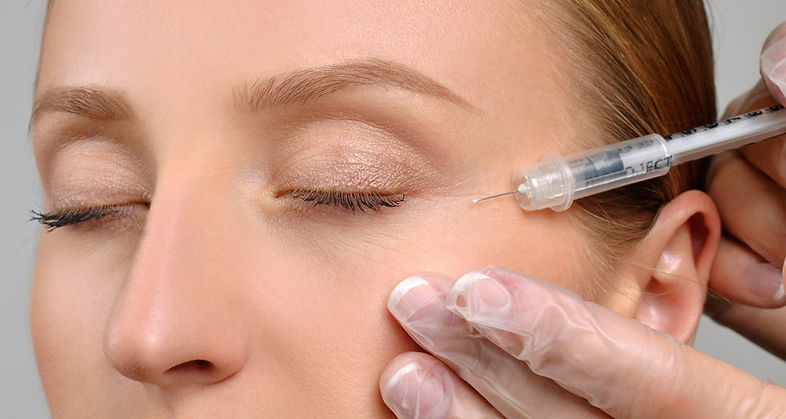 about botox injection laugh line botox Corona aesthetics Corona aesthetician Skin rejuvenation
