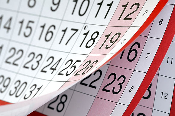 calendar pages, get injections before the holidays, benefits of injectables, holiday botox, about cosmetic injections
