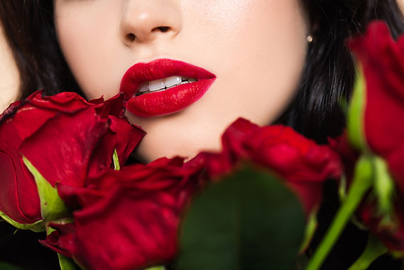 lips with roses, valentine's day aesthetics treatment, valentine's day skin care, anti-aging treatment, treatments to look younger,  valentine's day med spa treatment, valentine's day cosmetic treatments