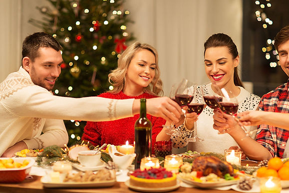 christmas gathering,  get injections before the holidays, benefits of injectables, holiday botox, about cosmetic injections