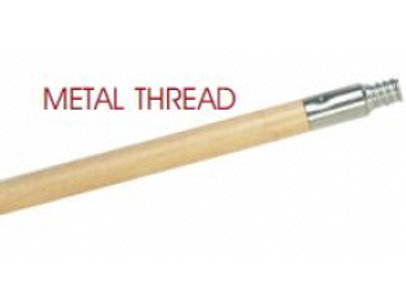 "LCB 24 - Lacquered Wood Handle with Metal Thread (15/16"" X 60"")"