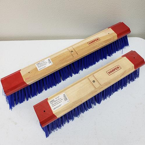 "94 Series Head Only - 18"" 24"" Stiff Bristled Broom Big Blue"