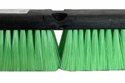 "14"" All Purpose Wash Brush (Green Nylon Head)"